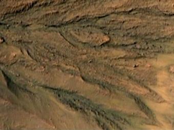 На Марсе, возможно, есть вода