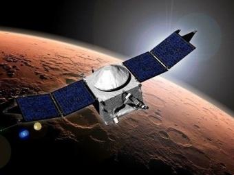 Зонд MAVEN впервые «нырнул» ватмосферу Марса