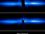 Обнаружена молодая система планет вокруг Беты Живописца