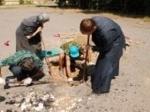 Археологи нашли старинный склеп