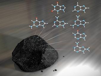 Метеориты содержат ДНК живых существ
