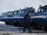 Военные спасатели прибыли наместо посадки экипажа «Союза ТМА-14М»