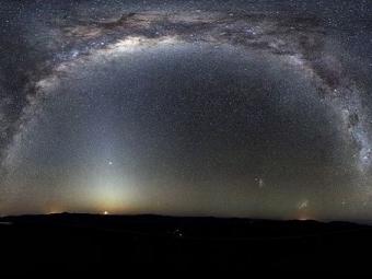 Млечный Путь насамом деле оказался неплоским блином, асжатой «гармошкой»