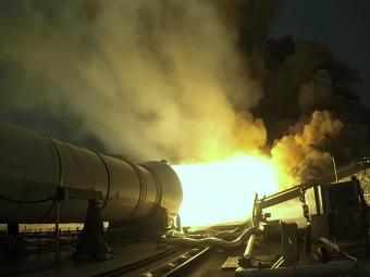 Завершились первые испытания ускорителя для новой сверхтяжелой ракеты SLS— NASA