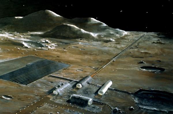 Французские ученые обнаружили наЛуне постройки инопланетян