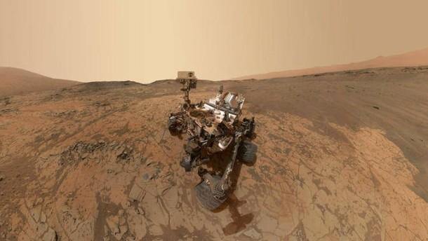 NASA обнаружило возможные свидетельства жизни наМарсе