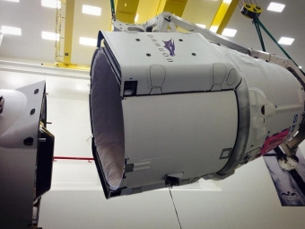 Грузовой корабль «Dragon» сегодня будет отправлен вСША кМеждународной космической станции
