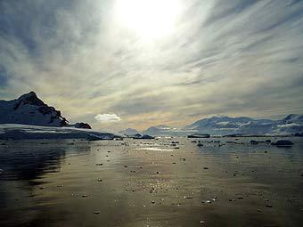 Арктические льды продолжают таять