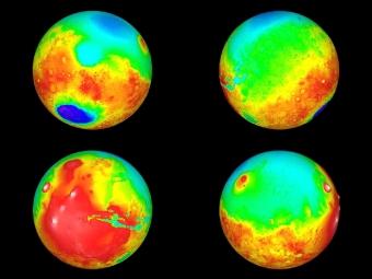 Марс всегда был холодной иледяной планетой— Ученые