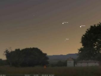 Самыми яркими светилами вконце июня станут Юпитер иВенера