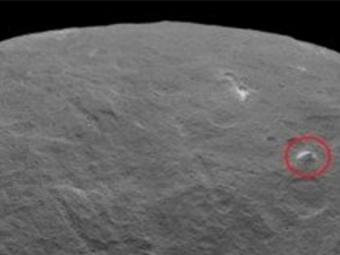 Накарликовой Церере обнаружена огромная пирамида— NASA