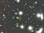 Взнаменитом скоплении обнаружено неменее 800 темных галактик
