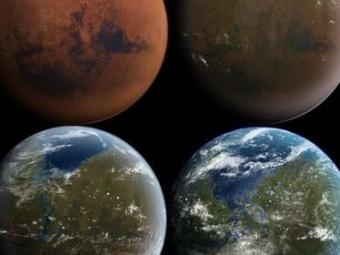 ВDARPA занимаются созданием организмов для преобразования Марса