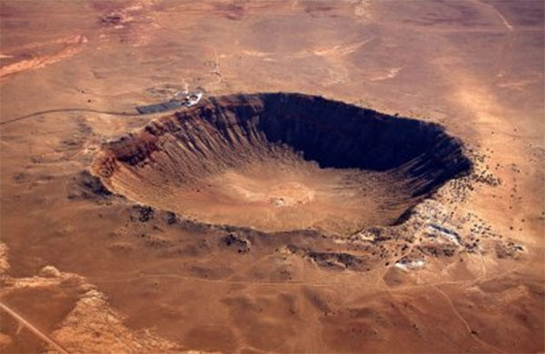 НаЗемле насчитали 128 кратеров отударов метеоритов