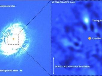 Швейцарские астрономы увидели рождение планеты