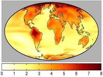 Чувствительность климата к углекислому газу оказалась переоценена