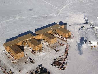 На Южном полюсе зарегистрирован температурный рекорд