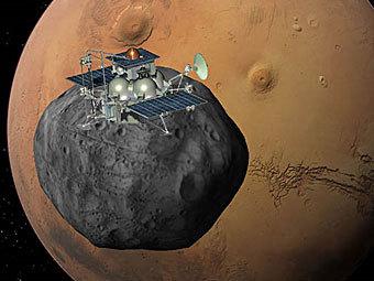 Роскосмос пообещал повторить миссию к Фобосу