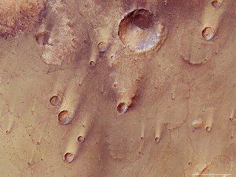 Mars Express разглядел Большой Сирт