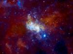 Астрономы уточнили рацион черной дыры в центре Млечного Пути