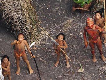 Найдено племя индейцев, не встречавшееся с цивилизацией