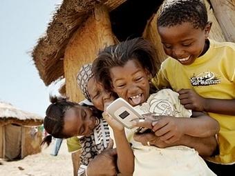 Сотовые телефоны повышают грамотность