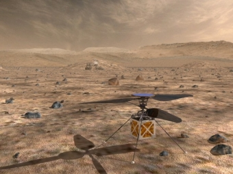 Новый вертолёт-разведчик дополнит марсоходы— NASA