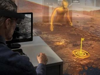 Ученые: Спомощью HoloLens можно будет изучить Марс