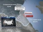 В Каспийске взорвался полицейский УАЗ