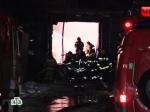 Назападе Москвы горят гаражи савтомобилями