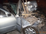 Автомобилист вАбакане протаранил трансформатор ипогиб отэлектроудара