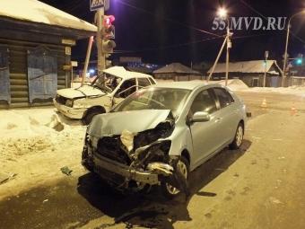 Очередное ДТП произошло на«проклятом» перекрестке вОмске