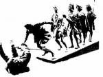 НаКировке иномарка сбила женщину ускульптуры верблюда