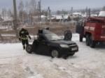 Сегодня вУльяновске неразъехались легковушка имикроавтобус