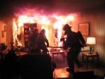 НаКамчатке вовремя циклона сгорела бойлерная автосалона «Ниссан»