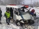 Вцентре Курска столкнулись маршрутка илегковушка, пострадали пять человек