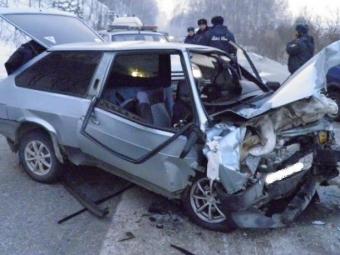 ВНовокузнецком районе произошло смертельное ДТП