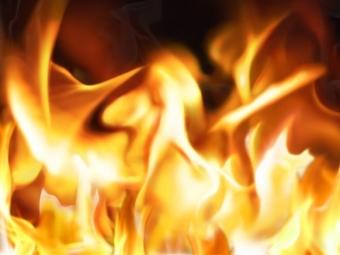 ВРязани полностью сгорел автомобиль «Шевроле»