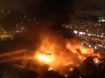 МЧС: Пострадавших врезультате пожара напроспекте Буденного вМоскве нет