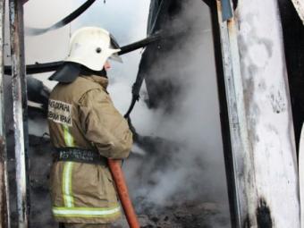 ВСмоленской области сгорел склад пиломатериалов илакокрасочных покрытий