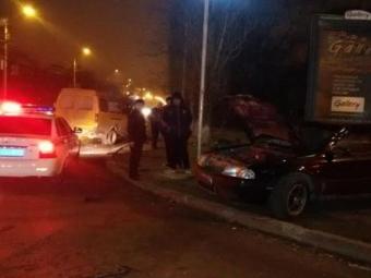 Пенсионер впал вкому после столкновения смаршруткой вБрянске
