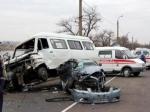 Очевидец: Серьезная авария сучастием маршрутки наМосковском шоссе
