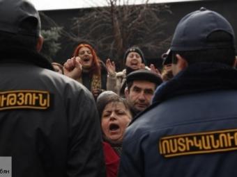 ВАрмении задержали одного изучастников беспорядков вГюмри
