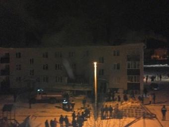 ВБаймаке взрыв вжилом доме привел кпожару