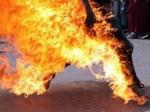 Мужчина предпринял попытку самосожжения умэрии Калининграда
