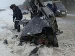 Женщина-водитель «Шевроле Спарк» погибла вДТП с«Ленд Крузером» под Ижевском
