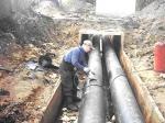 ВЛенинском иЖелезнодорожном районах произошли аварии натеплотрассах