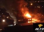 ВНовосибирске жильцам сгоревшего дома окажут помощь