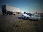 Натрассе Астрахань-Москва столкнулись 5 автомобилей