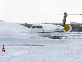 Снегопад вМоскве: Задержано 75 авиарейсов